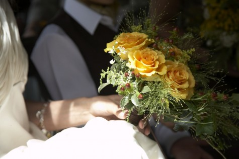 A country style bouquet