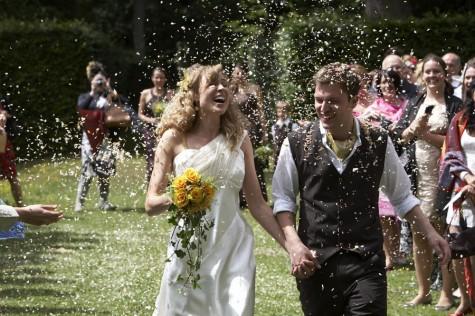 A shower of confetti!