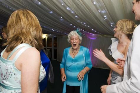 Granny on the dancefloor!