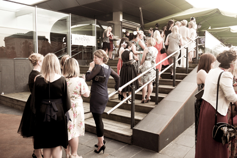 Outside the Baltic Centre for Contemporary Arts, Love My Dress Summer Soiree 2011