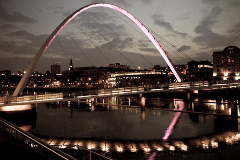 The Millennium Bridge, Gateshead, Love My Dress Summer Soiree 2011