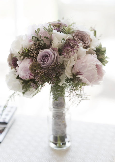 Wedding bouquet by Shrinking Violet Flowers
