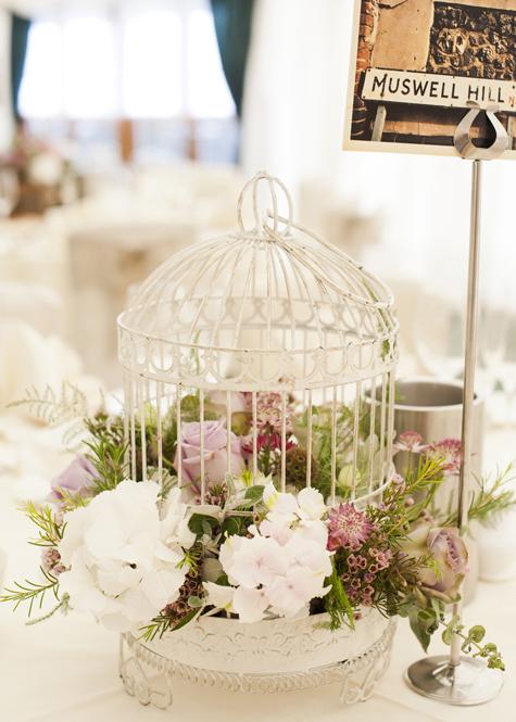Floral table centre piece