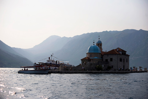 Our Lady of the Reef Church, Montenegro, photography by Pearl Pictures