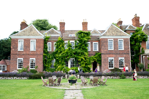 Exterior shot of Anstey Hall and gardens