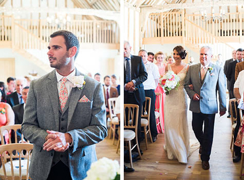 Wedding at Bruisyard Hall, Suffolk. Wedding photography by Jemma Watts at Pearl Pictures.