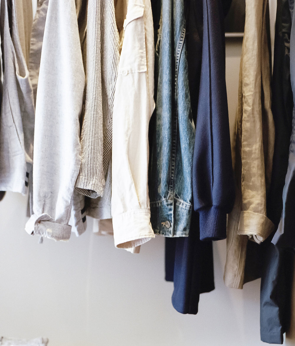 dry cleaning and garments alterations including delicate care, separates, air dry and lint removal.