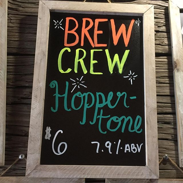 100% Brew Crew made!! Kudos to the entire team! #brewcrew #wemadethis #goodhopsbrewing #drinklocalbeer #carolinabeach