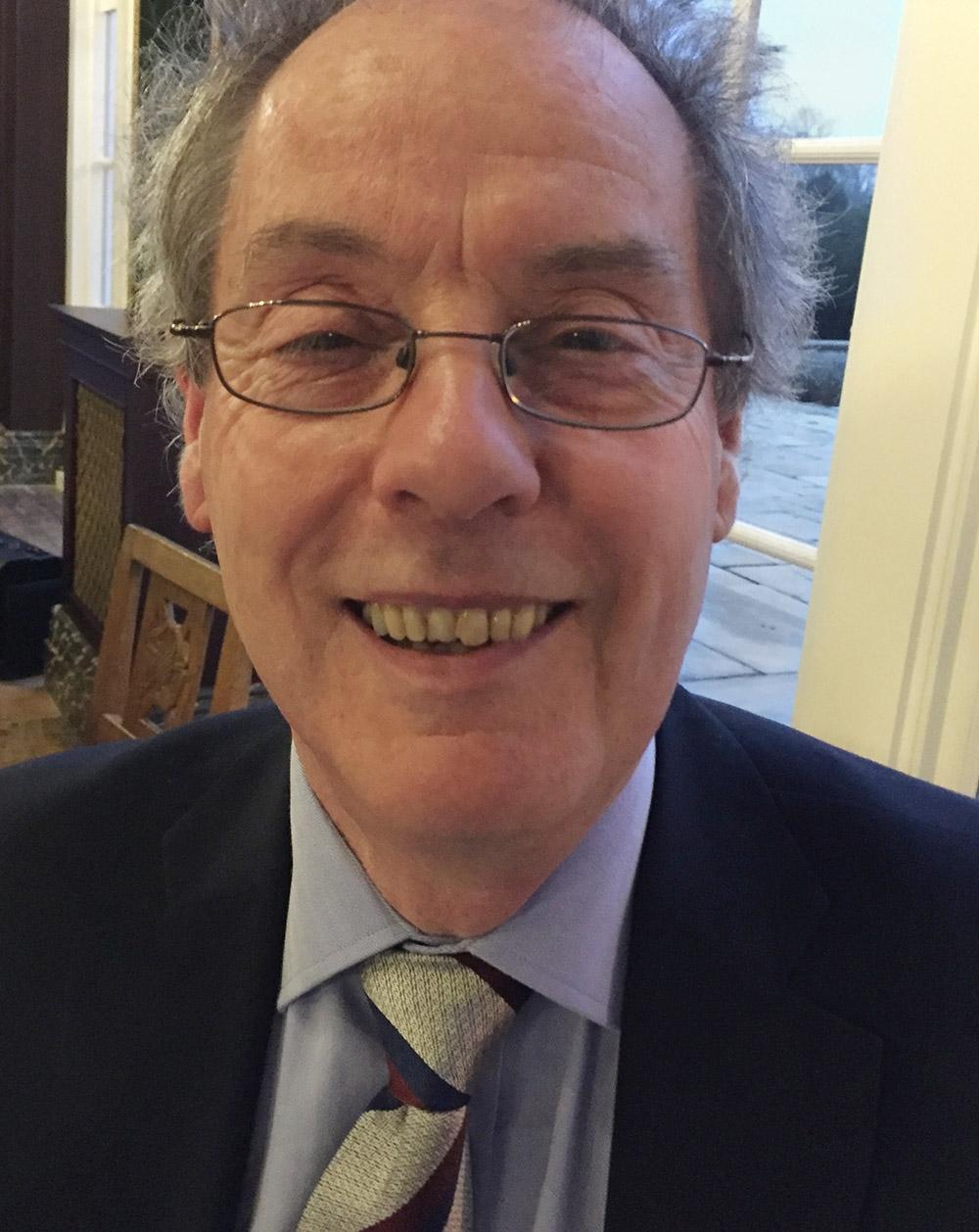Charles Glassey - 29 years Hon Treasurer