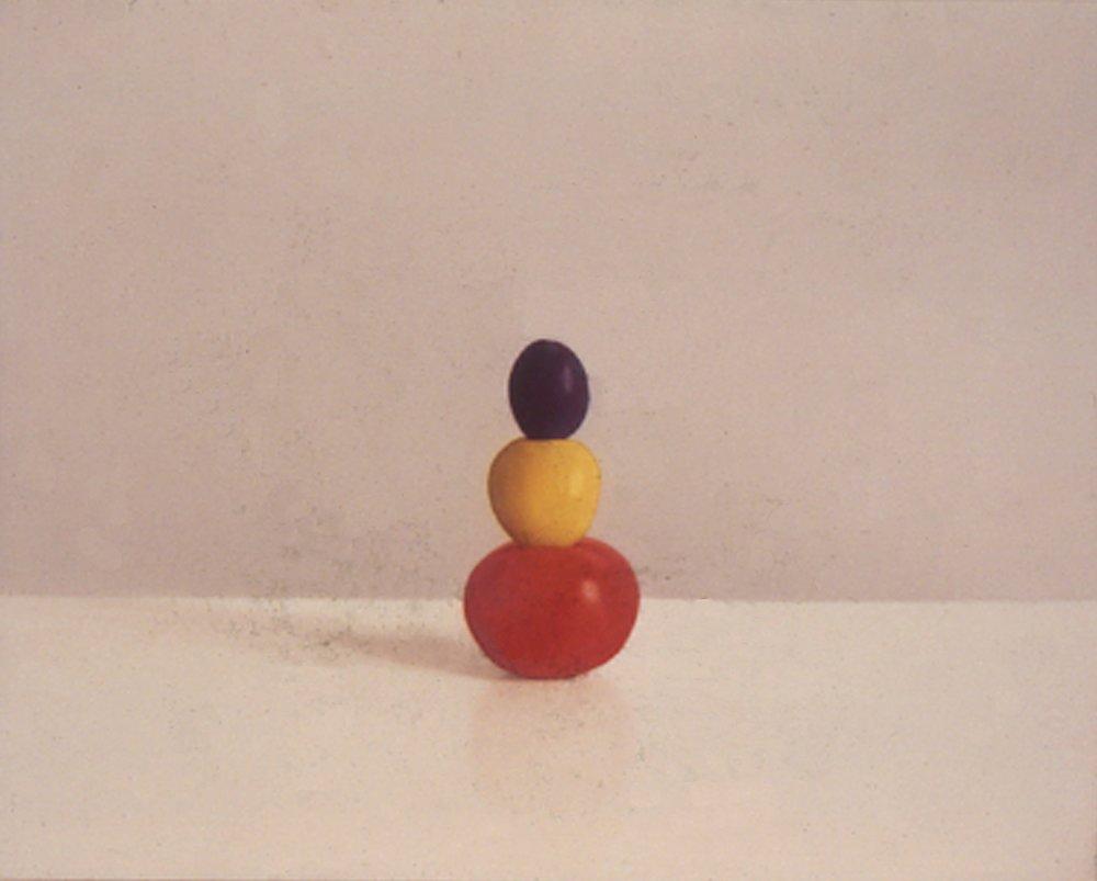 Primary Stack, 1997, 16x20, o/l