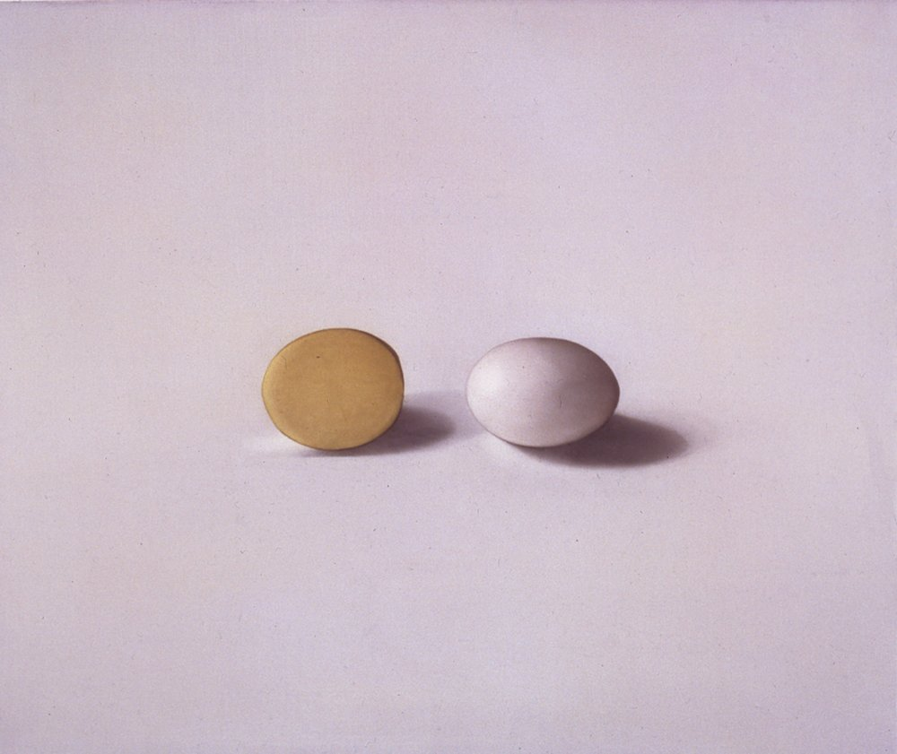 Egg and Potato, 1997, 15x18, o/l