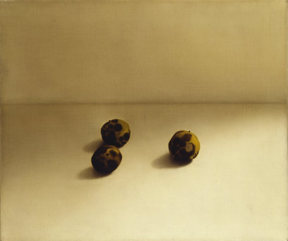 Still Life (three black walnuts), 1994, 15x18, o/l