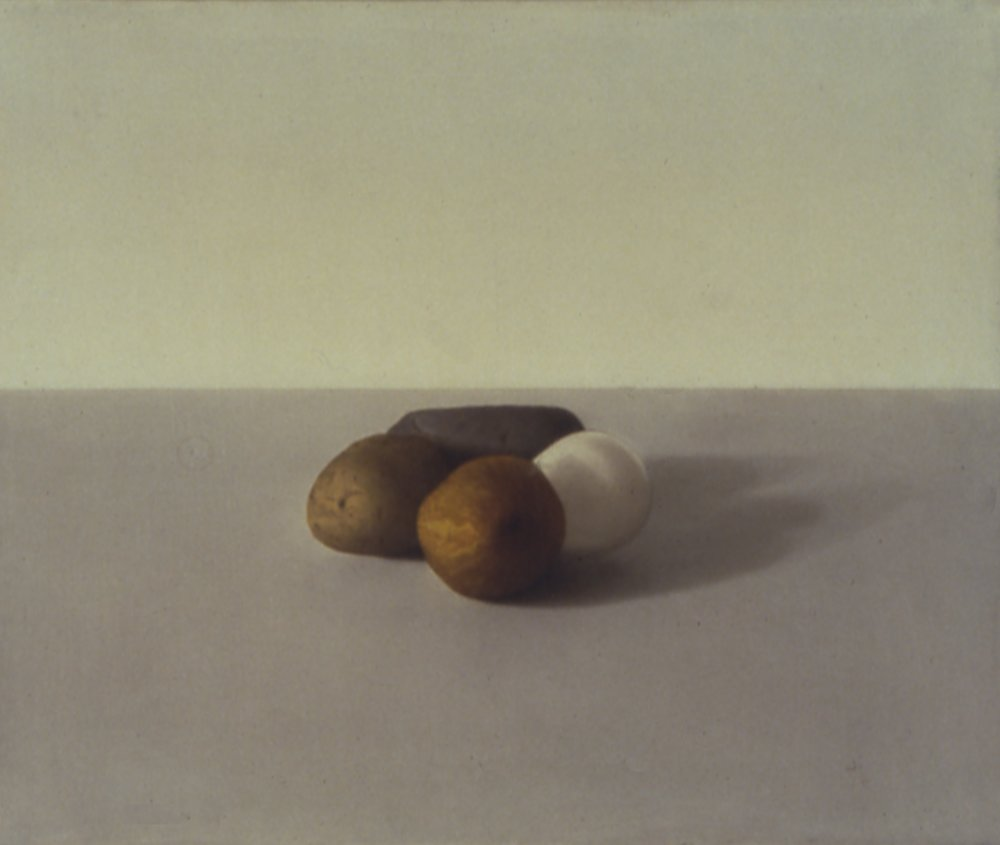 Degrees of Meaning, 1993, 14x17, o/l