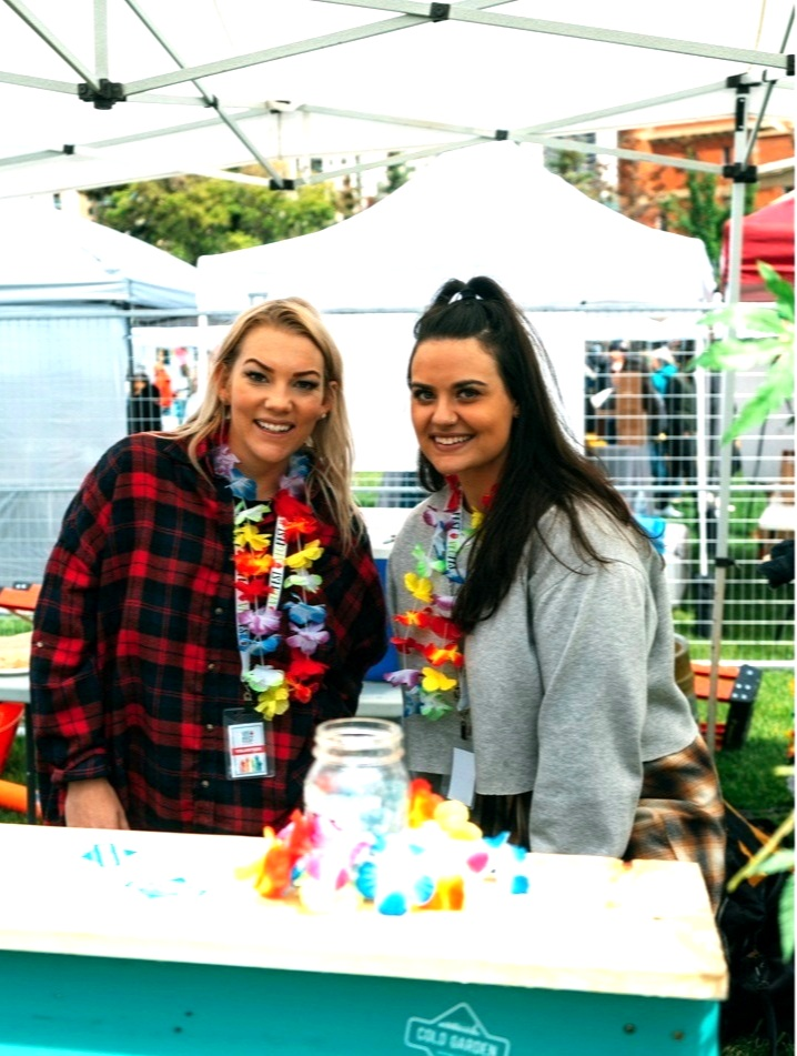 MEET NEW PEOPLE - From working the beer gardens, greeting festival attendees, to lending a helping hand to one of our amazing vendors, you'll hang with the best people around!