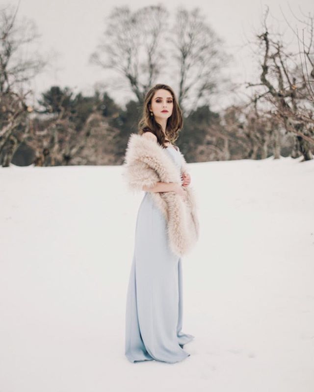 Walking in a winter wonderland ❄️❄️❄️ #snowangel . . . . #fineartweddingphotography #maweddinhphotography #justsaidyes #fineartweddings #winterwedding #vowgram #junebugwedding #bostonbride #westernmassbride  #weddingphotography #weddingphotographer #valleyofwonder #newportwedding #weddingstyle