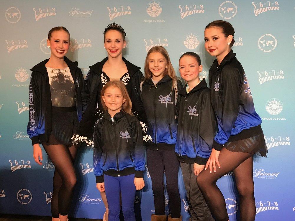 From Left: Veronica, Sydney, Eva, Alexane, Hazel and Claire