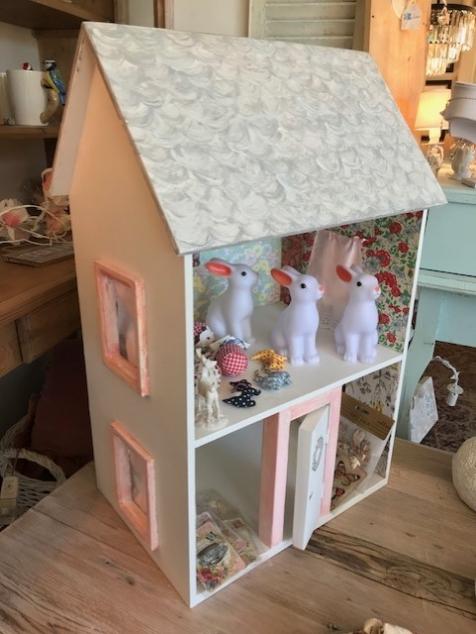Casa de muñecas en madera niños