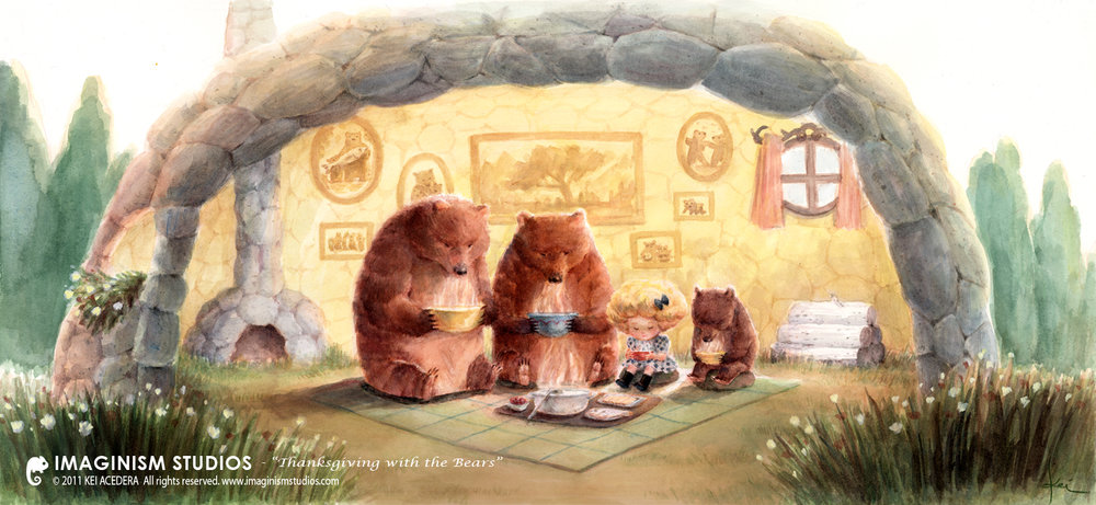 thanksgiving_with_the_bears_by_imaginism-d51v614.jpg