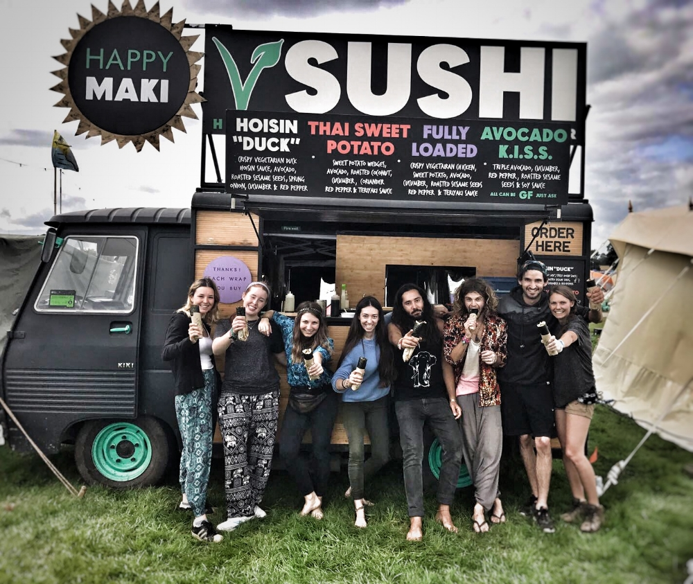 team-happy-maki-vegan-sushi-festival-food