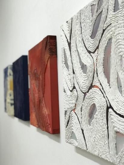 Installation shot of Emma Ponath