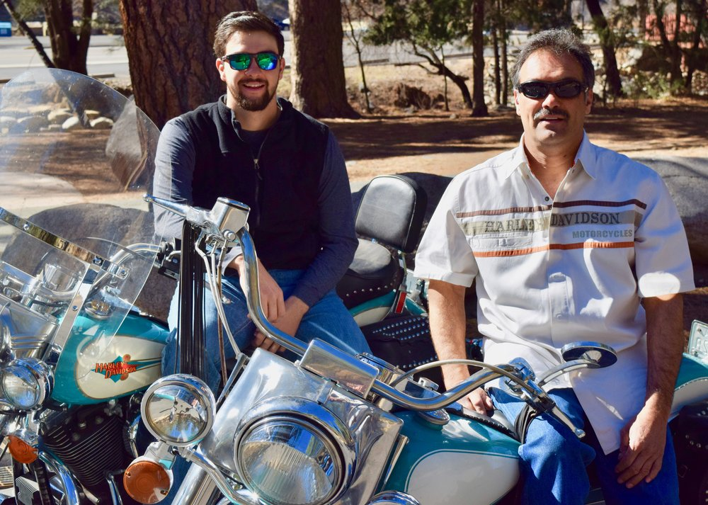 Humberto (R) and Blayne (L) Maldonado, father and son owners, Golden Aspen Rally Association