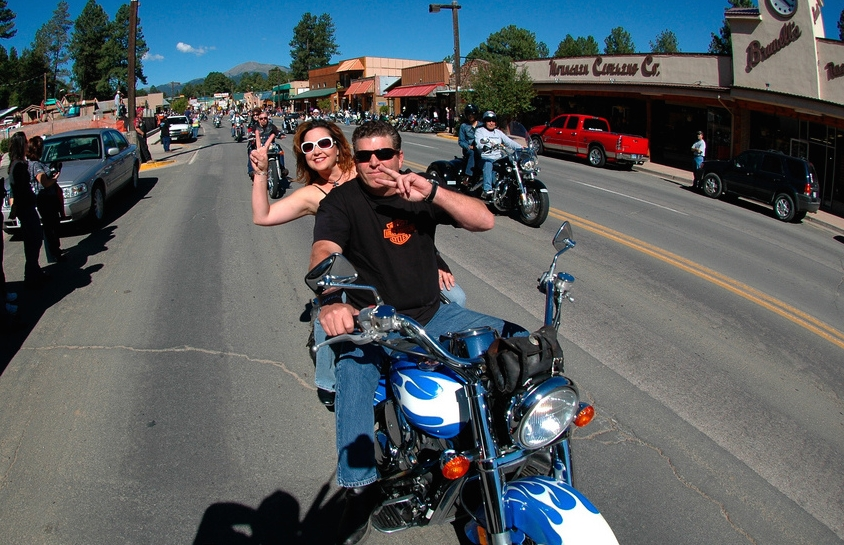 are motorcycle rally pictures  Rally Parade — MotorcycleRally.com