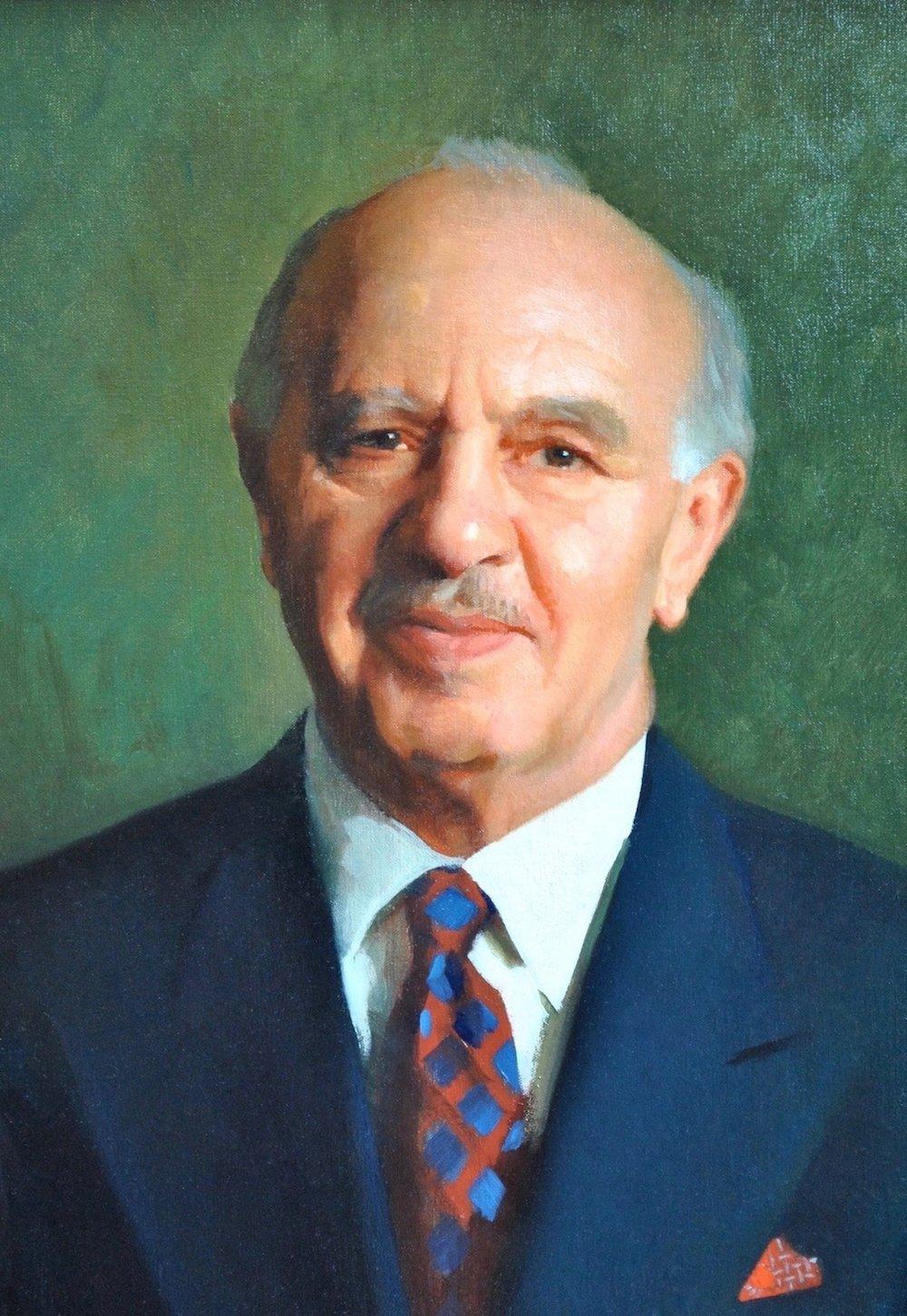 Oil Portrait, Physician