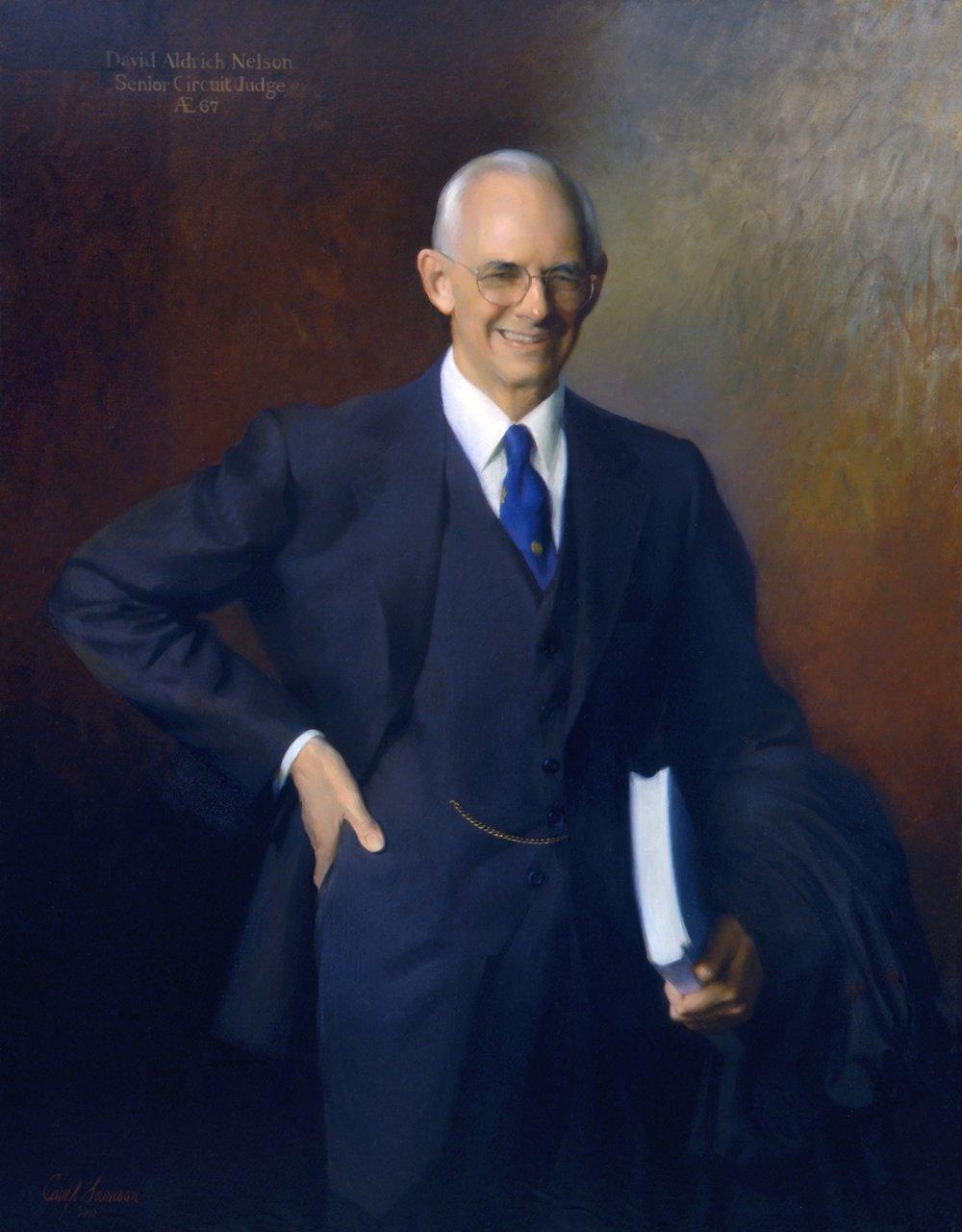 Oil Portrait, Federal Judge