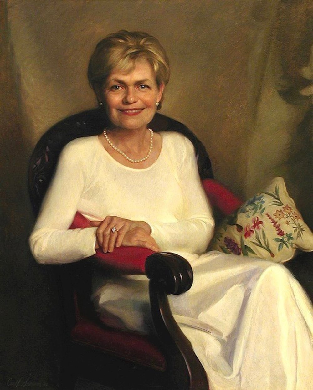 Oil Portrait, Marianne