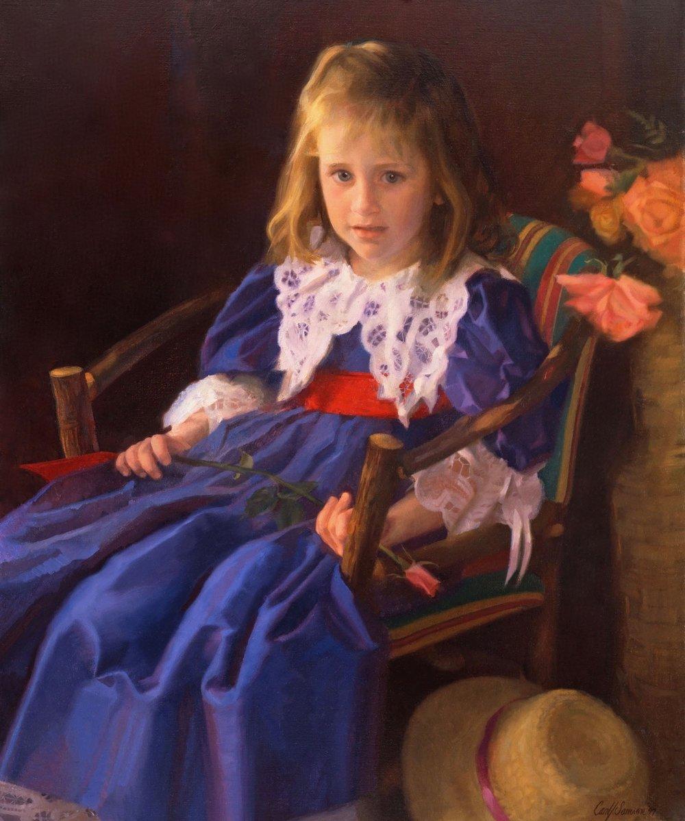 Oil Portrait, Abby