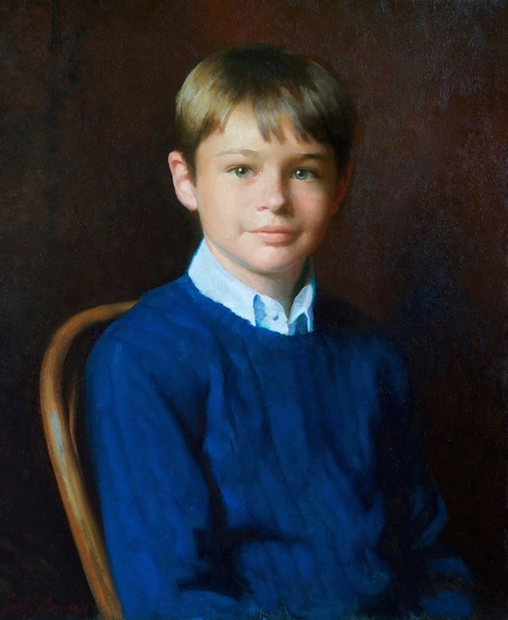 Oil Portrait, Charles
