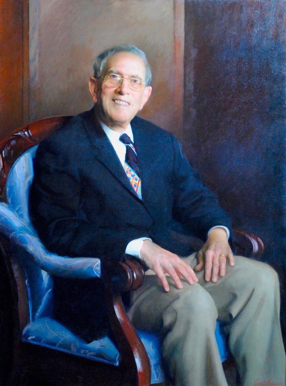 Oil Portrait, Department Chair