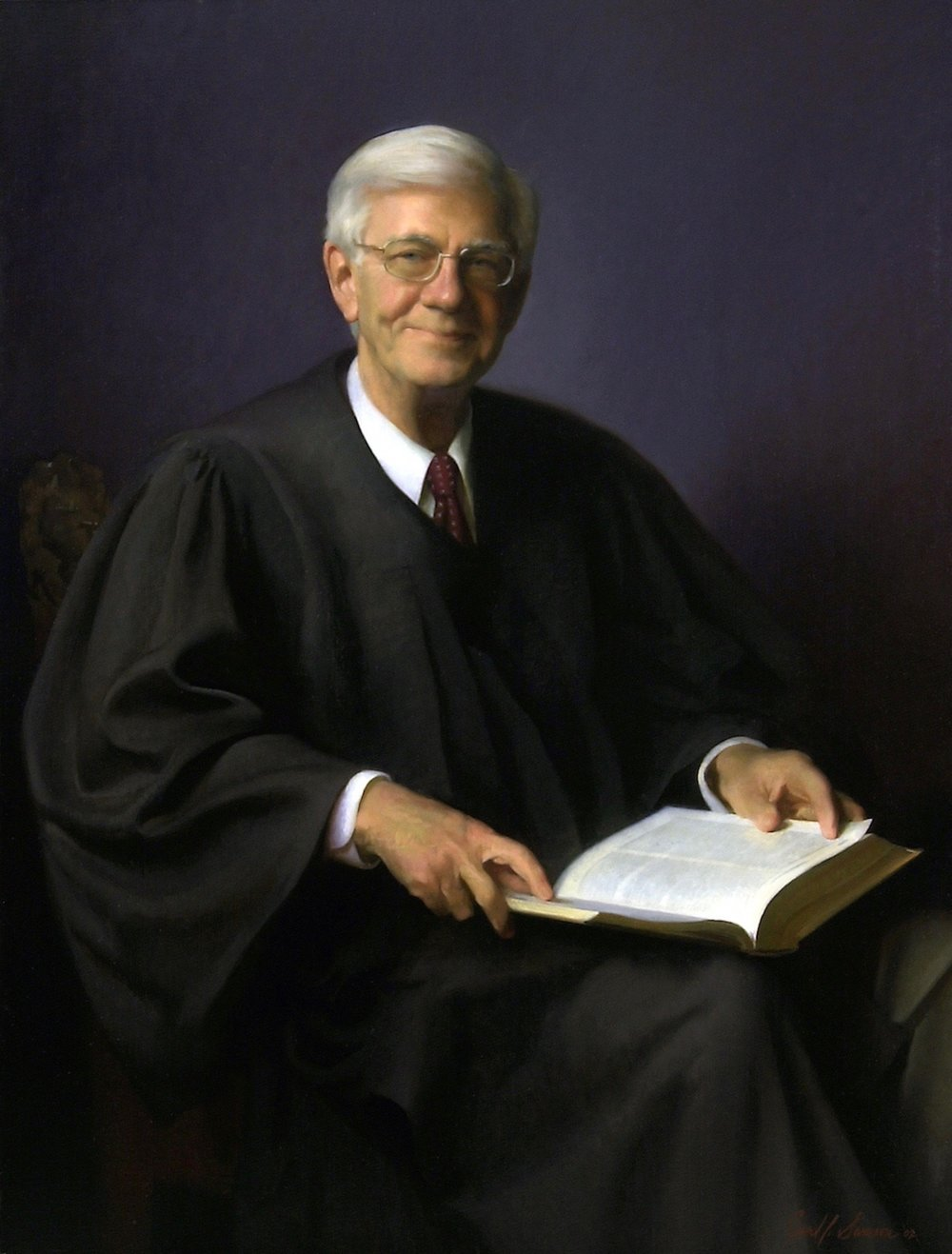 Oil Portrait, Federal Judge