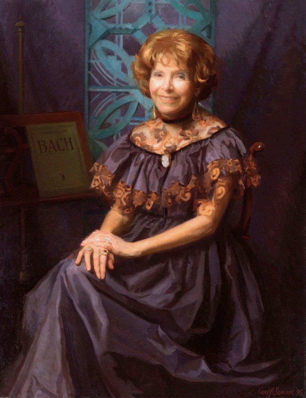 Oil Portrait, Philanthropist