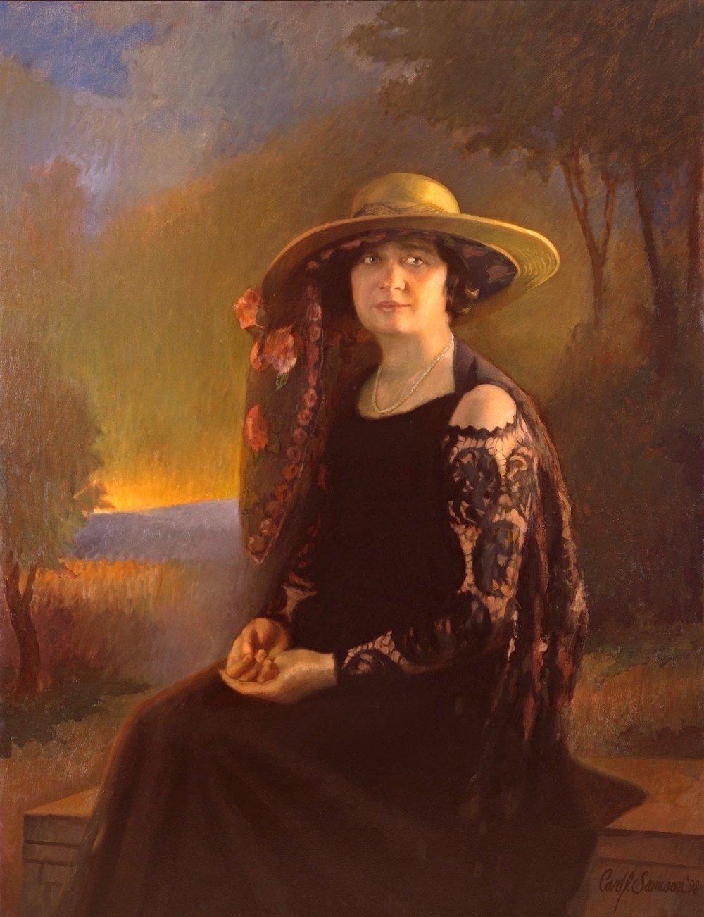 Oil Portrait, Olive Kettering