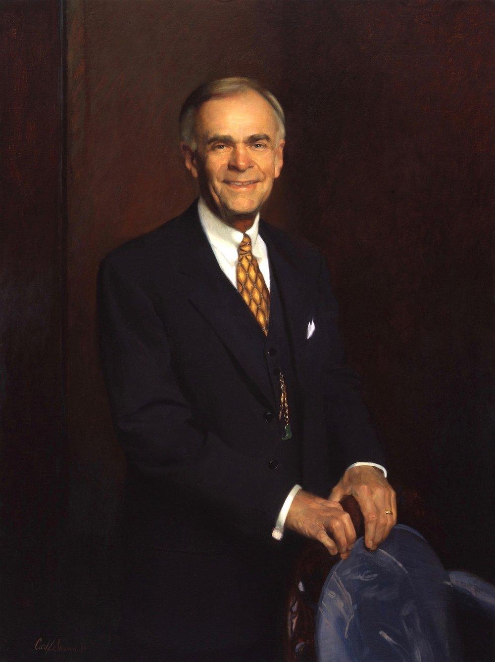 Oil Portrait, Co-Founder, Senior Partner