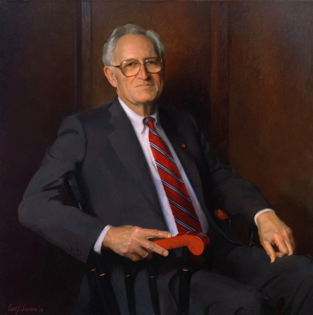 Oil Portrait, Department Chair