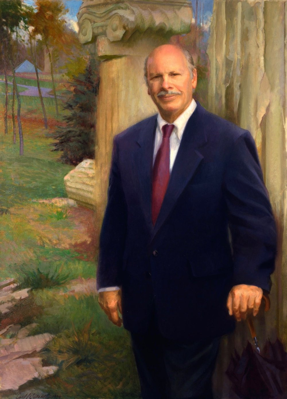 Oil Portrait, Museum Founder