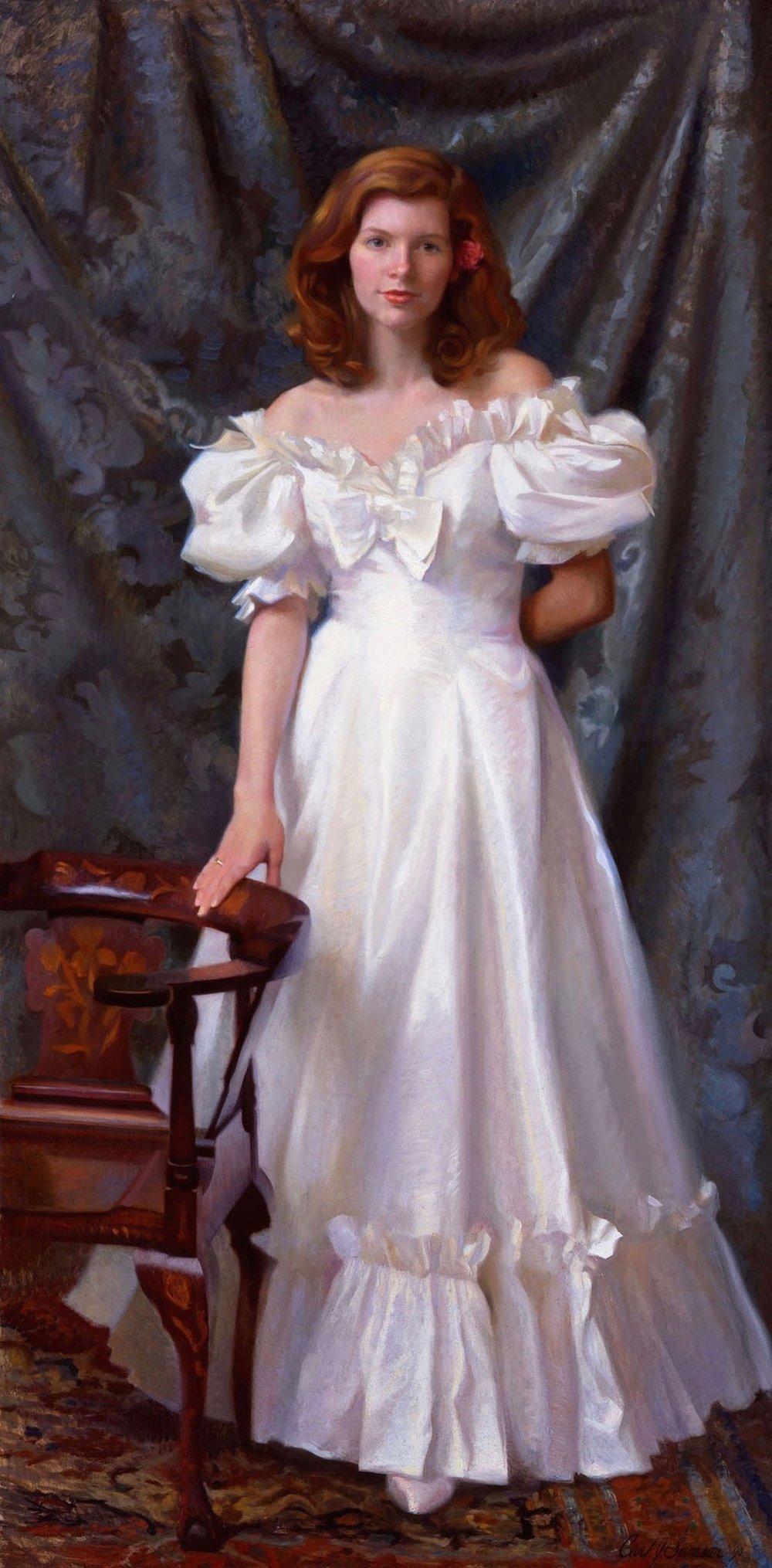 Oil Portrait, Debutante
