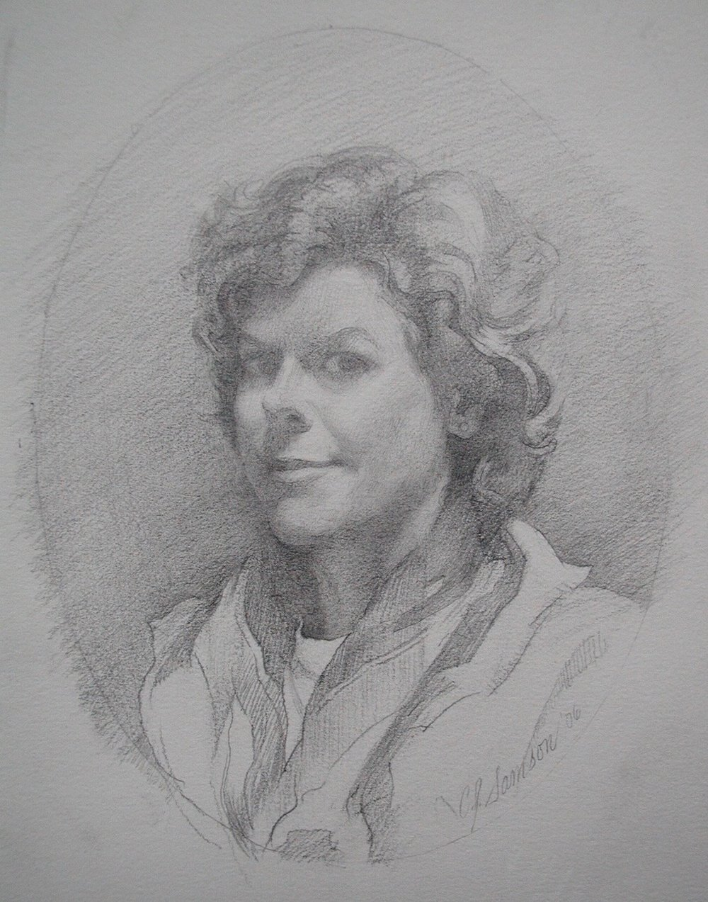 Graphite Portrait, Carol