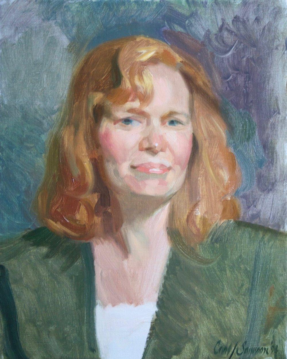 Alla Prima Portrait, Sue
