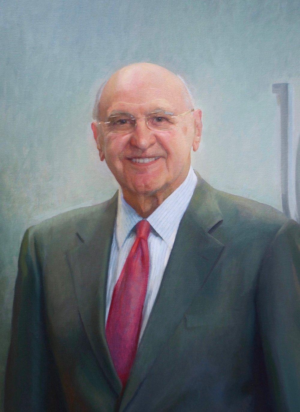 Posthumous Oil Portrait, CEO