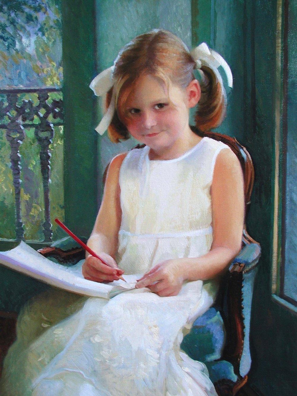 Oil Portrait, Helena
