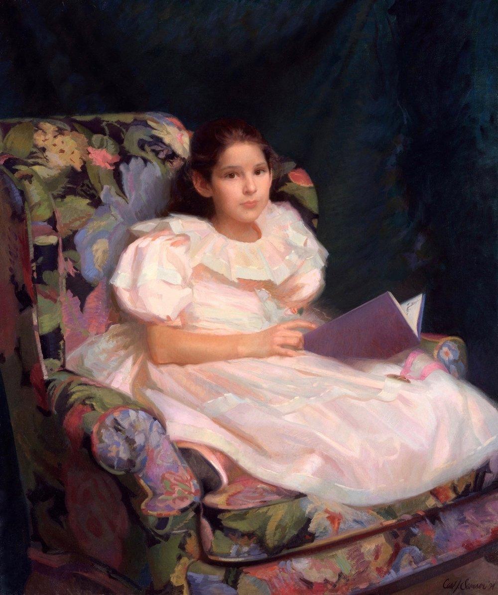 Oil Portrait, Amanda