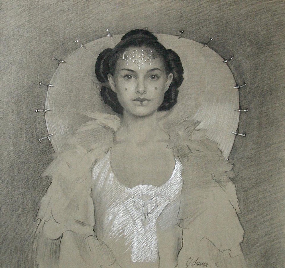 Graphite & Chalk portrait