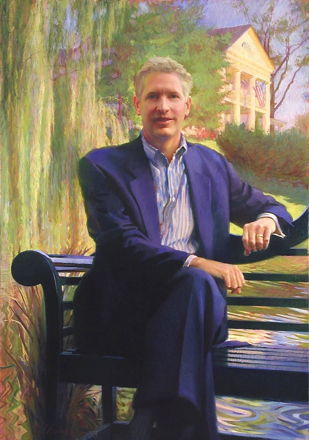 Oil Portrait, CEO and President