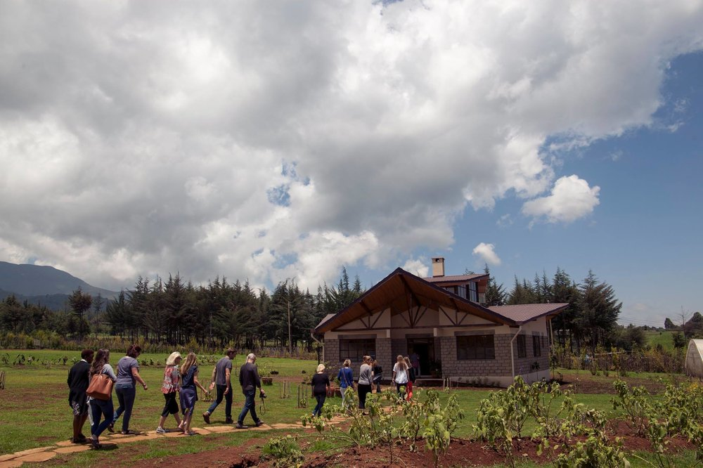 Flying Kites | Student Dormitory | Njabini, Kenya | 2015