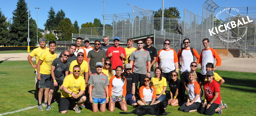 CollinsWoerman hosted their First Annual Seattle Architects Kickball Tournament for Charity and selected Construction for Change as their non-profit of choice!