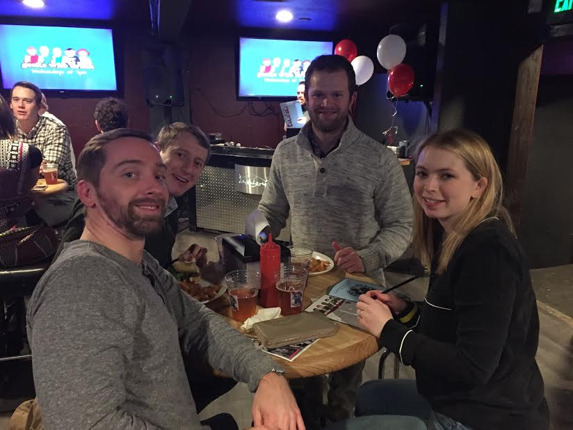 Oles Morrison Rinker & Banker LLP held a Trivia Night benefitting Construction for Change on January 17th, 2018.