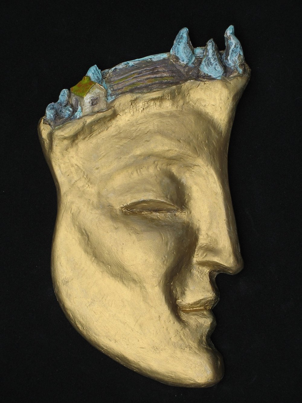 """Tuscan Daydream"", bronze, 6""H x 3.75""W x.5""W, ed. 3/11, 2008"